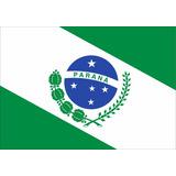 Bandeira Oficial Do Paraná Tam 135x193cm