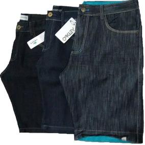 Kit /5 Bermuda Jeans Masculino Atacado