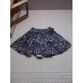 Hollister Minifalda De Floresitas Talla S(ch)