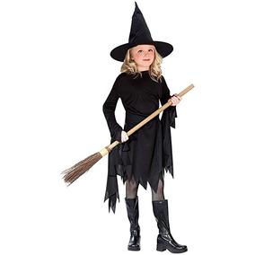 Bruja De Witchy Clásico Negro Niño Traje Medio (8-10)
