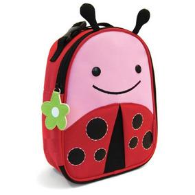 Lonchera Para Niños Animalitos Escolar Coquito Ladybug Shop