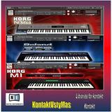 Korg Roland Yamaha Para Kontakt. Más De 1100 Samples.