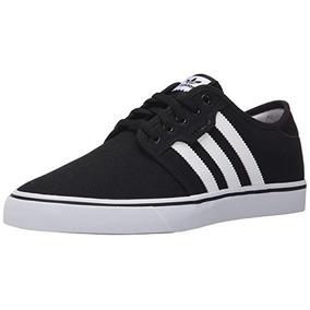 Hombre Fotos Zapatos En De Negro Adidas Y Blanco Zapatillas PqfSqagw