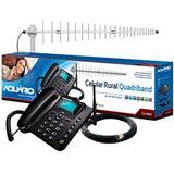 Combo Aquário Ca-4000t Celular Antena E Cabo Loja Autorizada