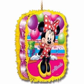 Piñata Silueta Imagen Minnie Mouse Disney Fiesta Cumpleaños