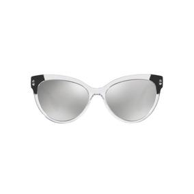 Versace Ve4338 52436g Transparente Lente Espelhada Prata Ros ca8b1faece