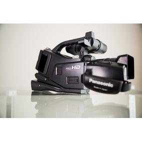 Filmadora Panasonic Ag-ac7 Full Hd, 16x Zoom Óptico, Lcd 2.7