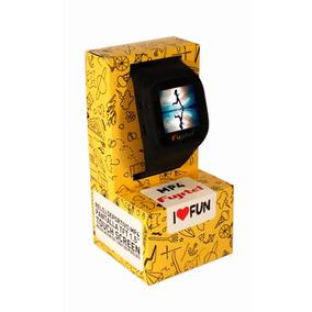 Pulsera Mp4 Reloj Sport 8gb Negro Fujitel