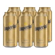 Imperial Lager . Cerveza . 473ml X 6 - Tomate Algo® -