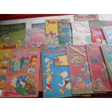 O Pato Donald E Zé Carioca Anos 1970 Lote Com 21 Revistas