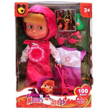 Muñeca Masha Con Un Vestido Y Accesorios