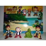 Jack Y Los Piratas De Nunca Jamás Set De 4 Personajes