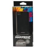 Capa Maxprint Para Iphone 4/4s Em Aluminio Preto 60767-0