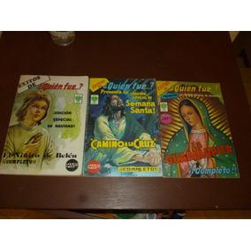 Quien Fue Ediciones Especiales,niño Dios,la Virgen $100 C/u