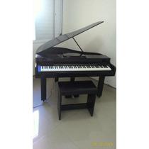 Piano 1/4 De Cauda Com Teclado Digital Casio Cdp 120