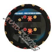 Cubre Volante + Cubre Cinturon Femenino Floreado
