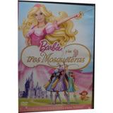 Dvd Original Barbie Tres Mosqueteras Español (usado) E9070