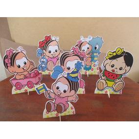 Kit Monica Baby , 10 Display De Mesa De 15 Cm,festa