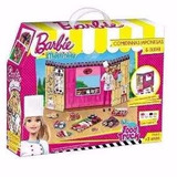 Barbie Massinha Food Truck Comida Japonesa E Sushi - Fun Div