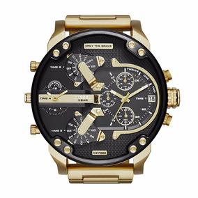 Reloj Diesel Dz7333 Mr Daddy 2.0 Gold Para Hombre