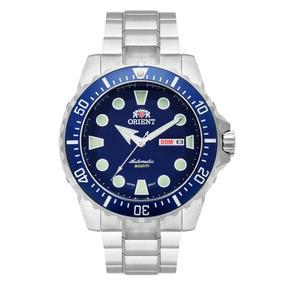 Relógio Orient Automático 469ss073 Mostrador Azul Lindo