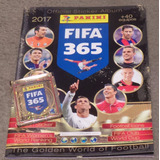 Fifa 365 2017 Panini + 15 Paquetes Álbum De Regalo!!!!!