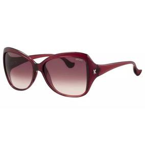 31a6bc1b9da07 Outlet   Óculos De Sol Kenzo   3130 02 Acetato Vermelho