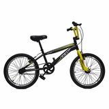 Bicicleta Gw Bmx Rin 20 - Serpens Amari/negro - Envío Gratis