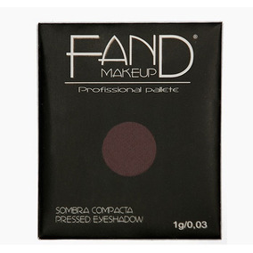 Kit Com 12 Refis Sombra Fand Makeup - Cores A Escolher
