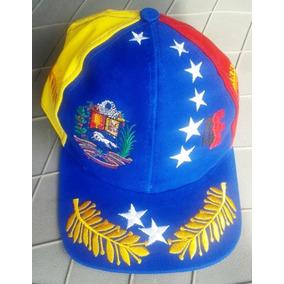 Gorra Con Logo Ofic. Superior 4f Tricolor 4 Espigas