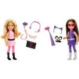 Bonecas 2 Barbie Agentes Secreta Chelsea Espiãs Dhf09 Mattel