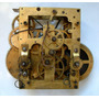 Antigua Maquina Para Reloj De Pared A Pendulo