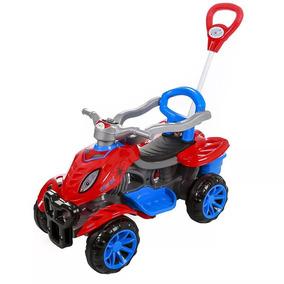 Mini Veículo Quadriciclo Motinho Motoca Passeio Pedal Spider