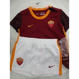 Kit De Futebol Oficial Puma Bebê 1 Ano Roma Da Itália