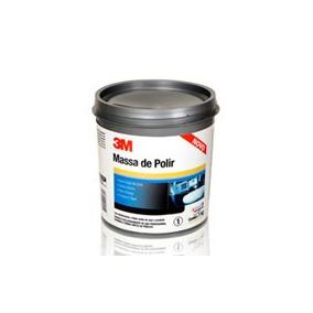 3m Massa De Polir Base Agua 1kg Para Polimento