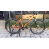 Bicicleta Orbea Alma H-50 2018 20 Vel Deore Slx Laranja