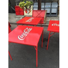 Antiguas Mesas De Coca Cola