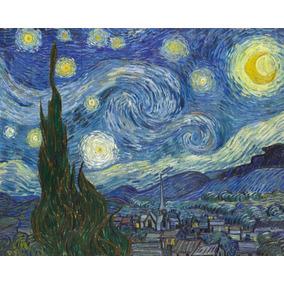 Lienzo Tela, La Noche Estrellada, Van Gogh, 74x100cm
