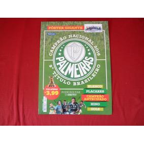 Palmeiras Poster Gigante Edicase Campeao Brasileiro 2016