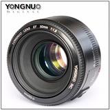 Lente Yongnuo 50mm 1.8 Para Canon+control Remoto Orig Rc6