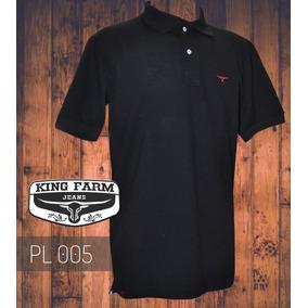 Camisa Polo King Farm Preto Pl005