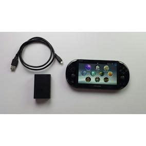 Ps Vita Slim Con 128gb +8gb Hackeado Cargador Original