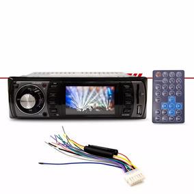 Auto Rádio Player Roadstar Usb Tela Lcd 3 Polegadas