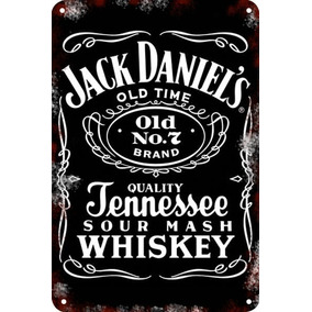 Carteles Antiguos Chapa Gruesa 60x40cm Jack Daniels Dr-073