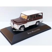 Miniatura Rural Willys Carros Inesquecíveis Brasil 1/43 1:43