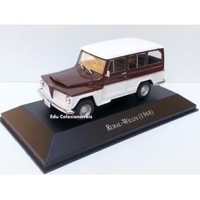 Miniatura Rural Willys 1968 1/43 Inesquecíveis Brasil 1/43