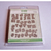 Scrapbook Suaje Alfabeto 2 First Edition
