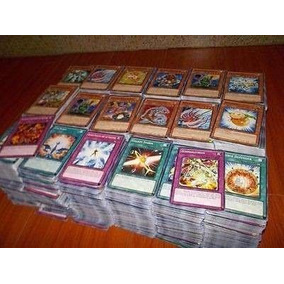 Lote De Cartas Yugioh 100 Cartas Castellano