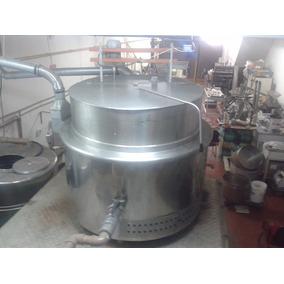 Caldeirão 1000lt + Caldeira + Misturador - Industria Cozinha