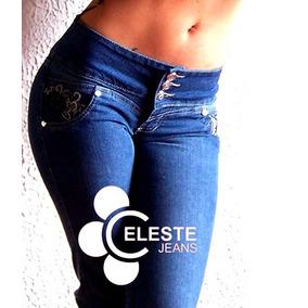 Jeans Levantacola Dama Ref Santa Martha